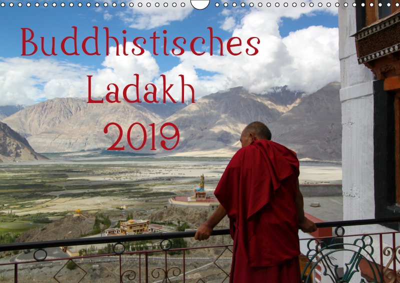 00 Cover Reisekalender Buddhistisches Ladakh Indien 2019
