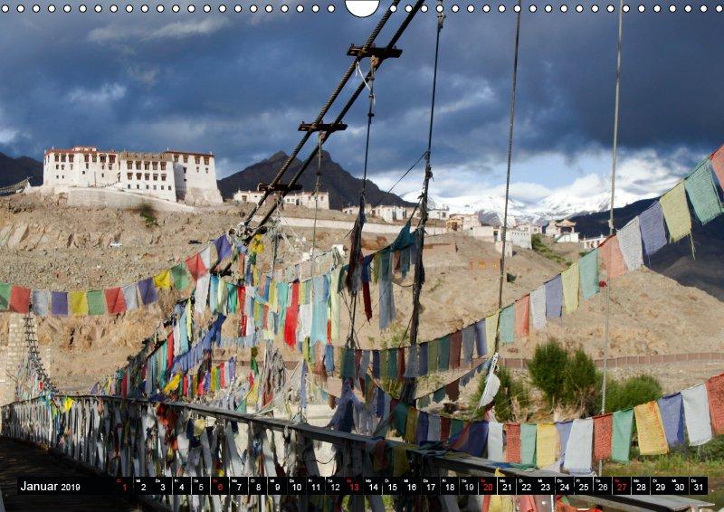 01 Januar Reisekalender Buddhistisches Ladakh Indien 2019
