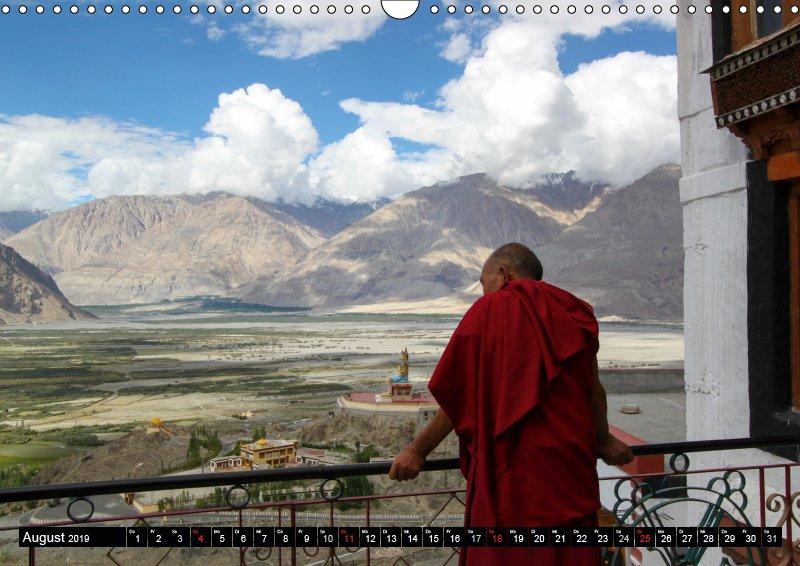 08 August Reisekalender Buddhistisches Ladakh Indien 2019