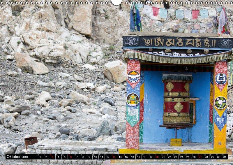 10 Oktober Reisekalender Buddhistisches Ladakh Indien 2019