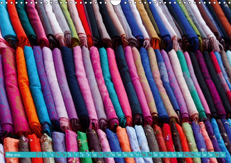 05 Mai Kalender Farb Shui - Farbe und Leben 2019