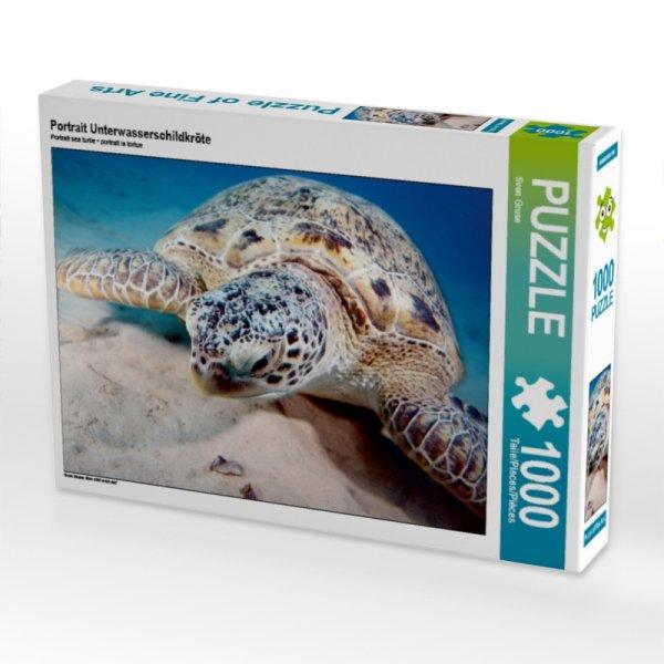 Unterwasserschildkröte Puzzle