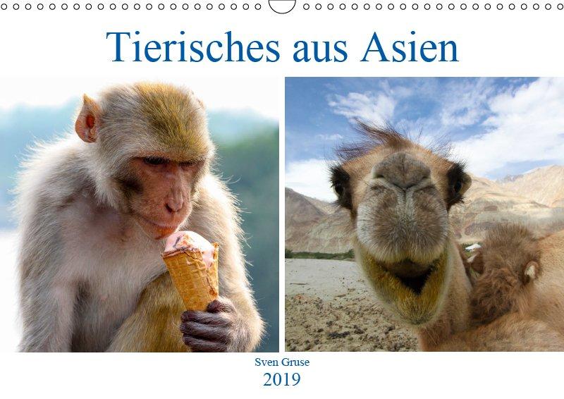 00 Cover Tierkalender Tierisches aus Asien 2019