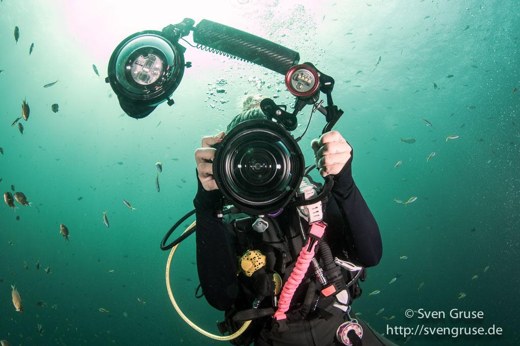 Olympus TG-4 Unterwasser